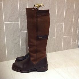 Dubarry Fermoy boots - size 5 . Fully Gore-Tex lined . As new.