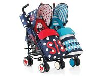 For swap or sale- Cosatto double stroller
