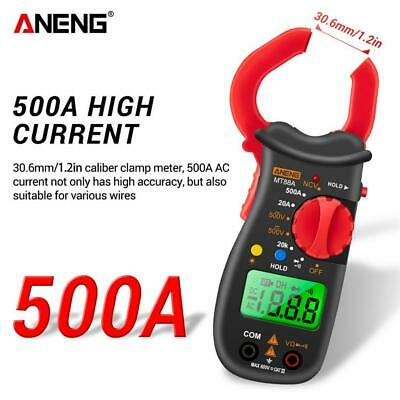 Digital Clamp Meter Acdc Current Voltage Multimeter Temp Volt Amp Tester New