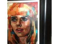 Paloma faith oil painting by D.O.M