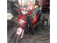 Honda sh 125 DD 2013/63 new mot 2019