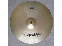 "18"" Anatolian Crash Cymbal ""Limited Edition"" - like new"