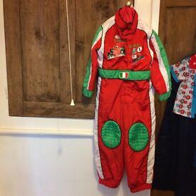Genuine Disney Store Costume Francesco Bernoulli, Age 3-4