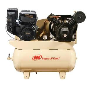 Compresseur d'air Ingersoll Rand de 14 HP Gas Drive - Kohler Engine