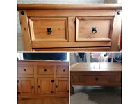 Wooden Sideboard, chest of drawers