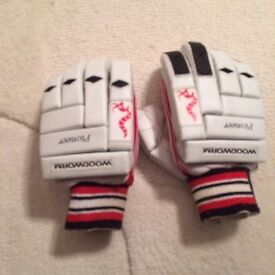 Woodworm batting gloves - youths