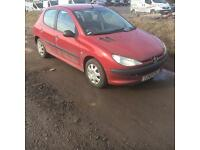 Peugeot 206 1.4 Manual Petrol 5doors