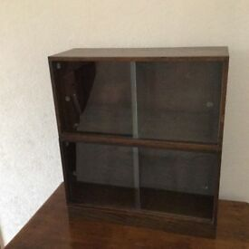 VINTAGE UNIX BOOKCASE/COLLECTORS CABINETS