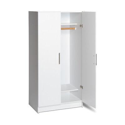 "Elite 65"" Tall Wardrobe Storage Cabinet Closet NEW"