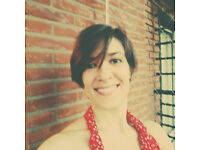 Grazia, learning with an Italian teacher from Florence!