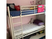 ***BUNK BED***WHITE