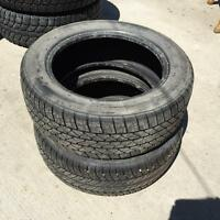 Selling 195/55/15 tires set of 4 about 80% left tread