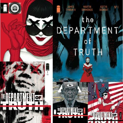 DEPARTMENT OF TRUTH #1 - #8  YOU PICK - IMAGE COMICS (W) James TynionIV 2020