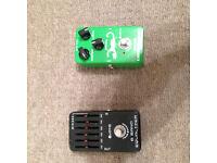 Joyo eq and compressor pedals