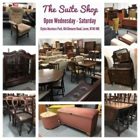 FURNITURE FOR SALE - MIX OF STYLES, SOME VINTAGE