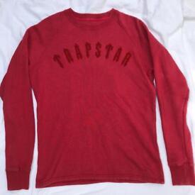 Trapstar sweatshirt jumper size medium