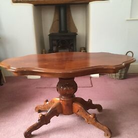 Mahogany coffee table - ideal project well made