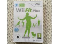 Wii FIT PLUS GAME NEW BOXED AND SEALED
