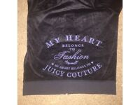 Juicy Couture zipper