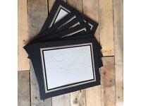 8x6 strut mounts for images / mounts black