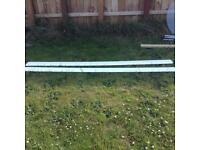 X2 lengths of plastic skirting free