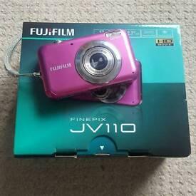 fujifilm Finepix JV110 Pink Camera