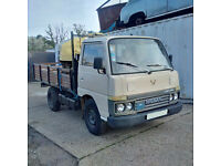 Left hand drive Nissan Cabstar SD25 2.5 diesel single wheel 3.5 Ton truck.