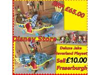 Disney store Deluxe-jake & the neverland pirates playset