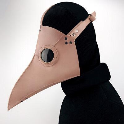 Retro Leder Pest Arzt Vogel Maske lange Nase - Langen Schnabel Maske