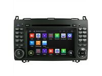 New Android Car Sat Nav DVD GPS For Mercedes Benz Vito Viano/Vito/ B/A class /Volkswagen Crafter