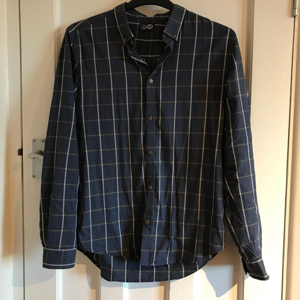 Cheap Monday Blue Checkered Shirt