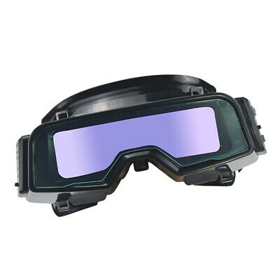 Solar Powered Auto Darkening Welding Mask Goggles Welding Glasses Eye Protection
