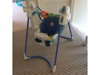 Fisher Price Link-a-doos Magical Mobile Swing - Excellent Condition
