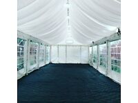 MARQUEE / TENT HIRE 07398786111 Birthday, Wedding , Mehndi, Baby Shower all sizes available