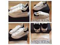 Alexander Mcqueens Unisex Men Women's Boys Girls Trainers Shoes Sneakers Footwear Various Size