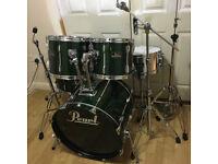 Fully Refurbished Pearl Export Drum Kit