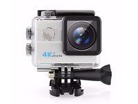 l 4K Waterproof WiFi Action Camera