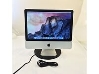 """Apple iMac 20"""", A1224 2.4GHz Intel Core 2 Duo - 2GB, 250GB HDD - GREAT CONDITION"""