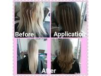 Hairdresser, hair extensions 11 years experience fully qualified and insured appointments available