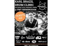 Signature Drummer: Karl Brazil (Drum Clinic)