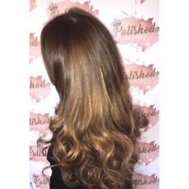 Mobile hairdresser Liverpool - COLOUR/HAIREXTENSION SPECIALIST/OLAPLEX