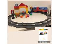 Huge bundle of Lego duplo including electric train set