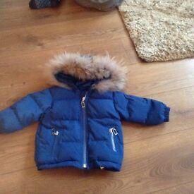 Baby boy Dior coat 18 months