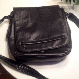 Mexx leather messenger bag