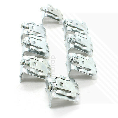 Arian Stainless Steel Kitchen Sink Fixing Clamp Clips | Pack of 8 | BRAND NEW
