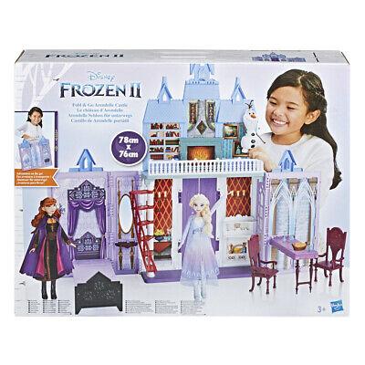 Frozen II Castillo De Arendelle Portátil + 6 accesorios 3 Años+