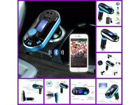 Bluetooth Car MP3 Player Handsfree FM Transmitter Dual USB Aux Wireless Remote