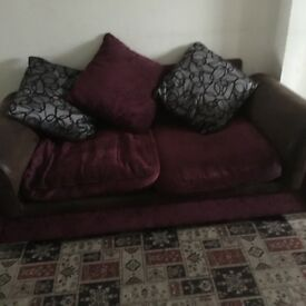 sofa bed- white