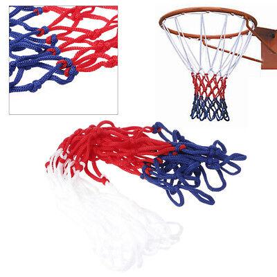 Universal 5mm Nylon Red White Blue Basketball Net Nylon Hoop Goal Rim Mesh