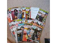 25~ copies of Total Guitar Magazine circa 2005 + cd's